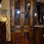 Copper Curio Cabinet