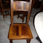 Mesquite Inlay Chair
