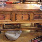 Mariquita Copper Sofa Table