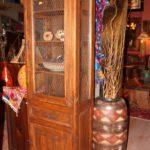 Mesh Curio Cabinet