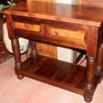 Copper Sofa Table