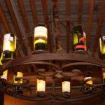 Twelve Wine Bottles Chandelier