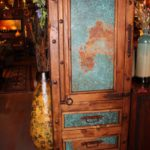 Hacienda Acid-Wash Copper Filing Armoire