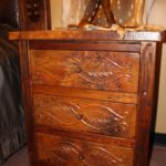 Copper Leaves Nightstand