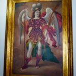 Archangel in Gold Frame