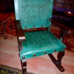Argentina Rocking Chair in Turquoise