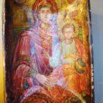 Byzantine Bowl Painting from Mykonos